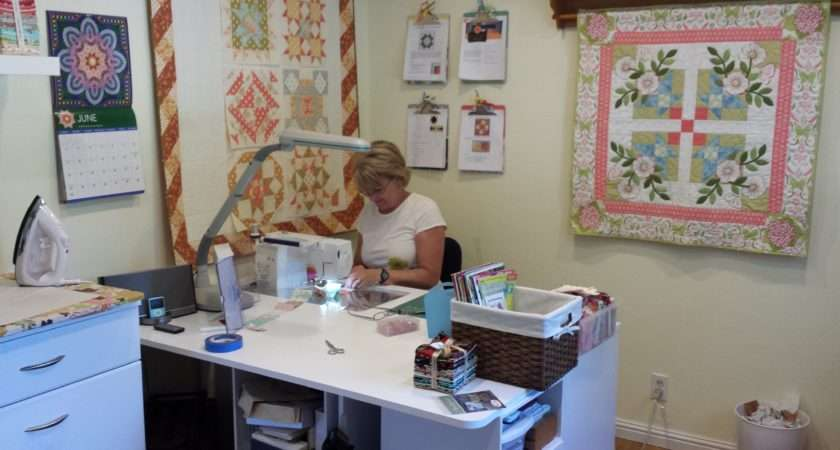 Sewing Room Tour Crafty Quilter