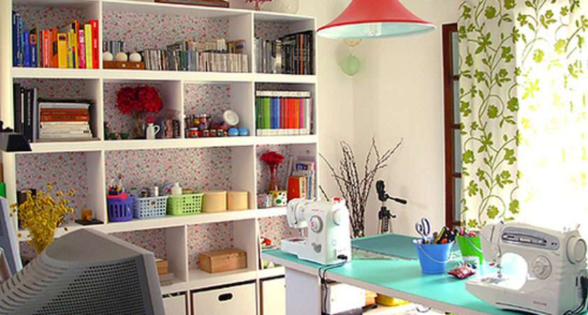Sewing Rooms Studio Part Office Room Design Home Creative