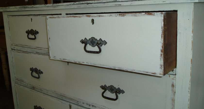 Shabby Chic Chest Drawers Stopsley Antiques