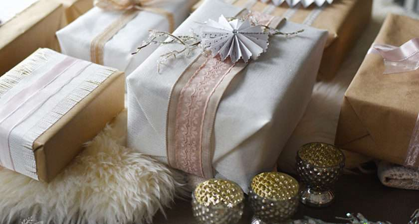 Shabby Chic Christmas Gift Wrapping Ideas Monthsofdiy Diy