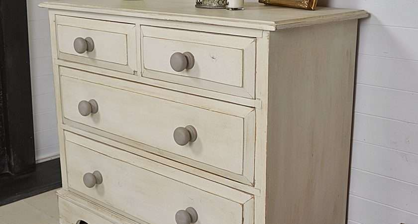 Shabby Chic Farmhouse Chest Drawers