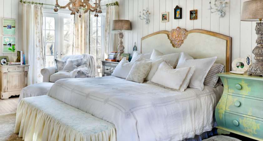 Shabby Chic French Country Bedding Decorating Ideas Bedroom