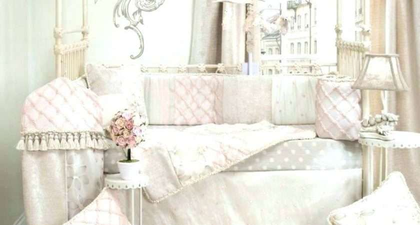Shabby Chic Girls Bedding Baby Girl Crib Sets