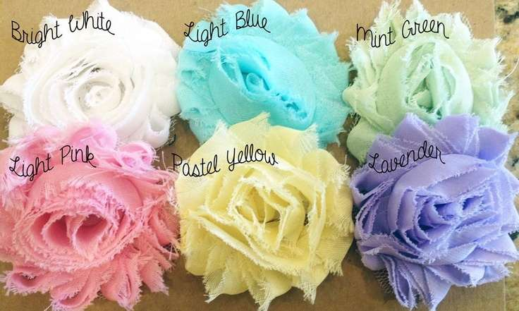 Shabby Chic Headband Blowout Colors Prints Available Very