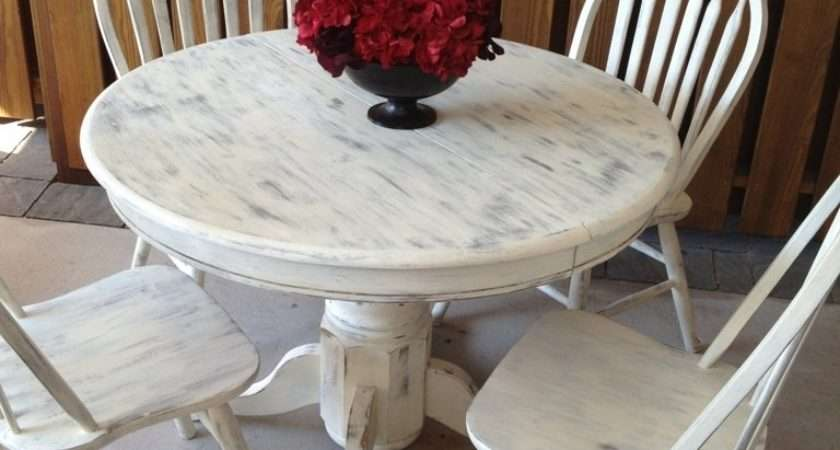 Shabby Chic Kitchen Table Sets