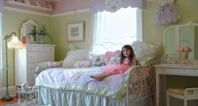 Shabby Chic Little Girls Room Soft Colors Pin