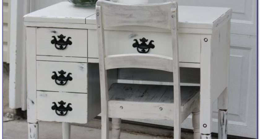 Shabby Chic Office Chair Desk Home Design Ideas