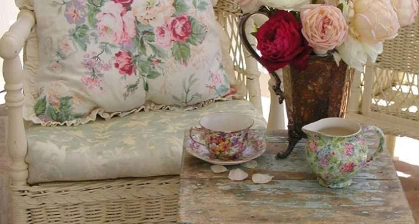 Shabby Chic Porch Furniture Photos