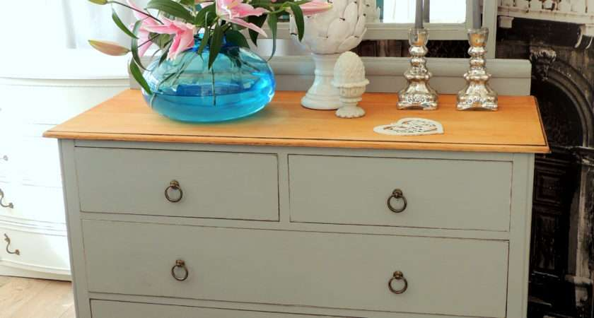Shabby Chic Solid Oak Dressing Table Sold