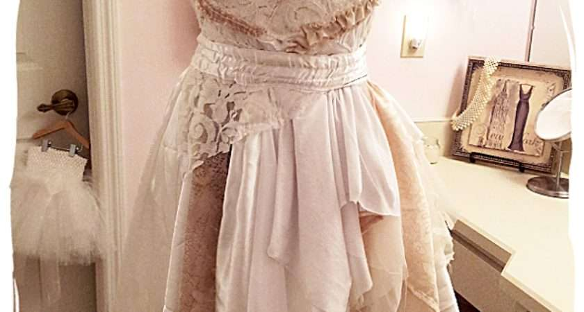 Shabby Chic Tattered Dress Getting There Lulu Couture