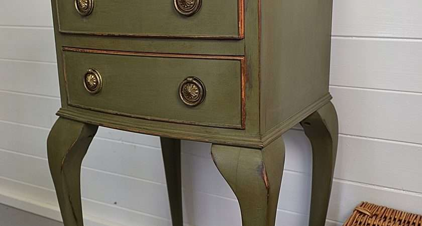 Shabby Chic Vintage Bedside Table Dining Tables Treasure Trove