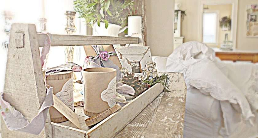 Shabby French Chic Inspired Christmas