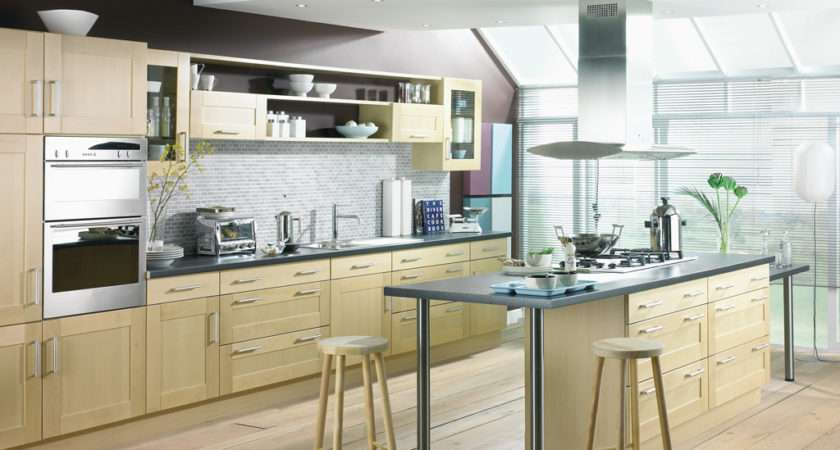 Shaker Birch Kitchen Design Stylehomes