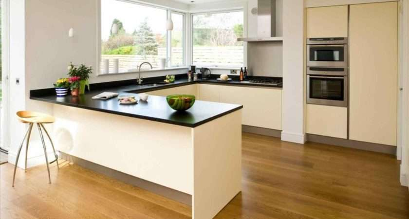 Shaped Kitchen Diner Room Beautiful Light Open