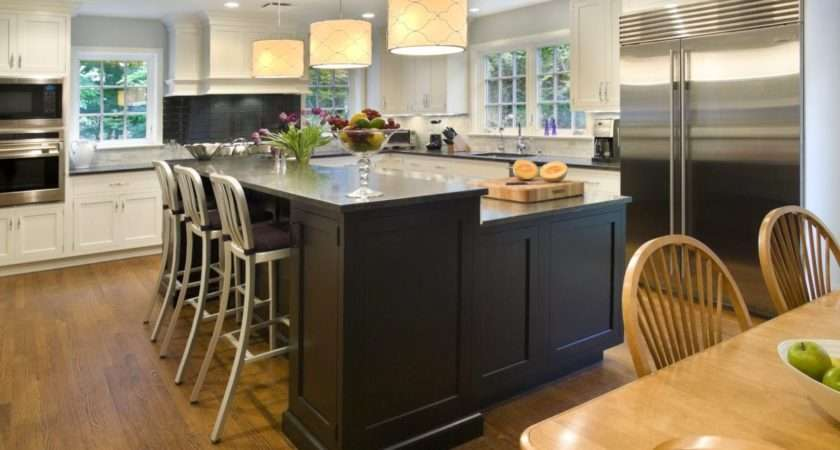 Shaped Kitchen Island Ideas Tips
