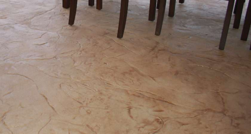 Shed Basement Flooring Types Stained Concrete Epoxy