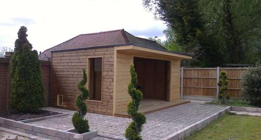Shed Log Cabin Home Office Gym Summer House Hand Built Best