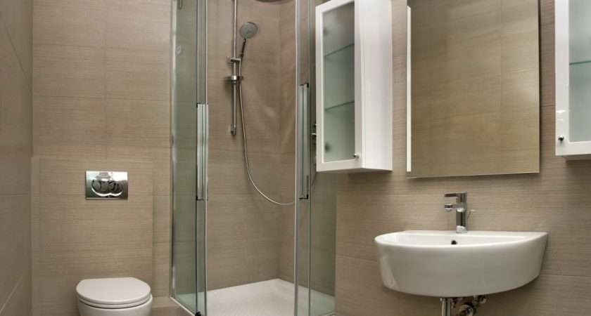 Shower Stalls Small Bathrooms Designs