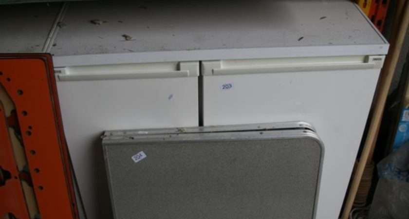 Side Zanussi Fridge Freezer