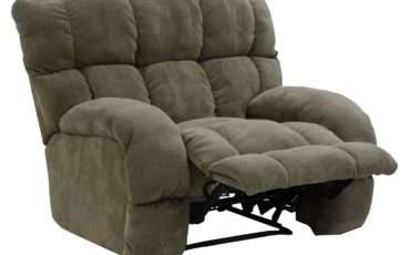 Siesta Lay Flat Recliner Extra Wide Seat Catnapper Wolf