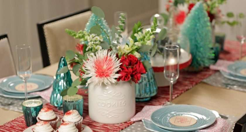 Simple Holiday Table Settings Hgtv Crafternoon