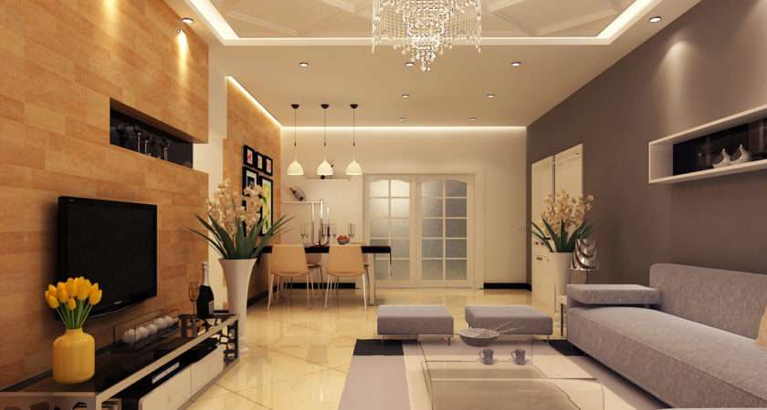 Simple Modern Living Room Design