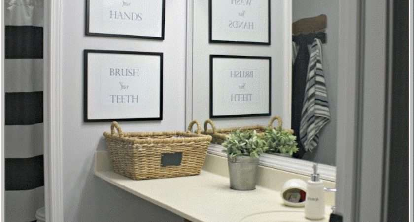 Simple Painting Bathroom Makeover Ideas Home