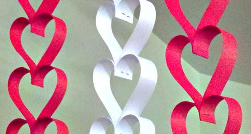 Simple Paper Heart Crafts One Good Thing Jillee