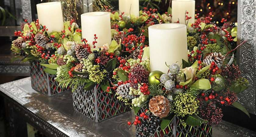 Simple Yet Beautiful Centrepieces Home