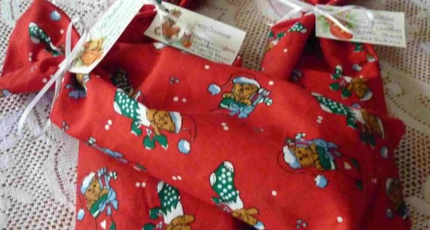 Simpleliving Make Fabric Bags Christmas Gifts