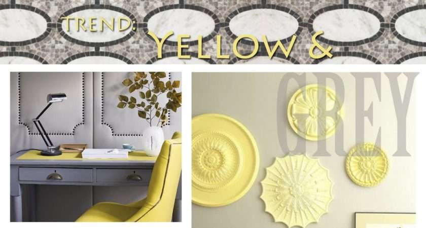 Sincerely Your Designs Decorating Yellow Grey