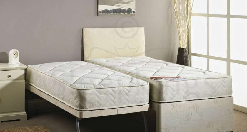 Single Guest Bed Mattress Pullout Trundle