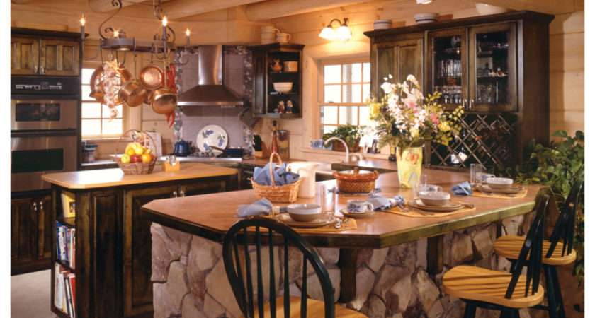 Sitka Rustic Country Log Home Plan House Plans