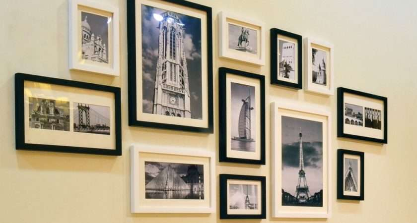 Six Original Ideas Hanging Frames Home