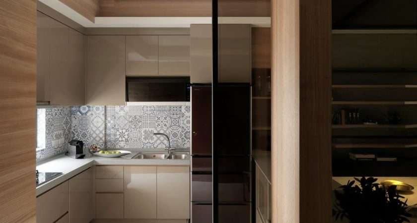 Sliding Doors Your Small Kitchen