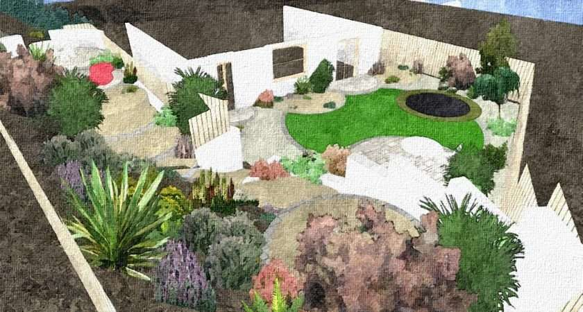 Slope Garden Design Ideas Home Designs Project