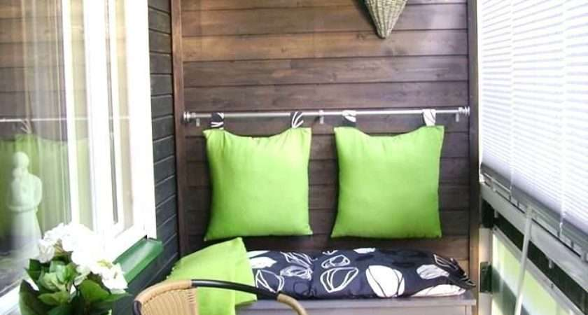 Small Balcony Decorating Ideas Modern Homes
