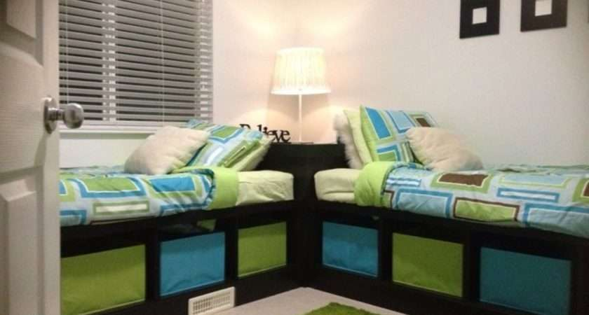 Small Bedroom Decorating Ideas Contemporary Twin Beds White