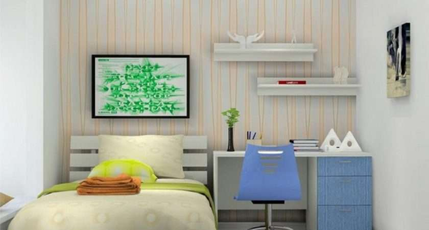Small Bedroom Decorating Pleasing Student Ideas Home Design