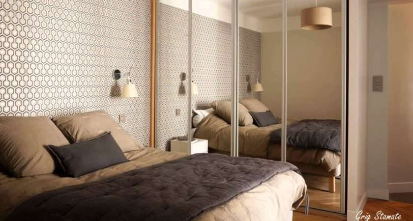 Small Bedroom Mirrored Wardrobes Spaces Ideas Youtube
