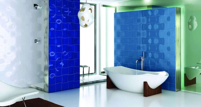 Small Blue Bathroom Tiles Ideas