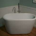 Small Deep Soaking Bathtub Faucet Standing Ebay
