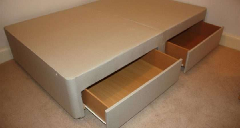 Small Double Divan Bed Drawers John Lewis