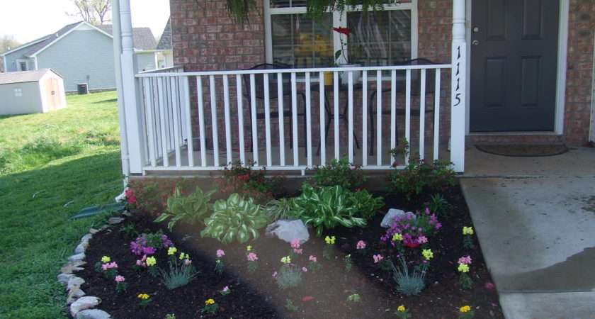 Small Flower Bed Ideas Front House Garden