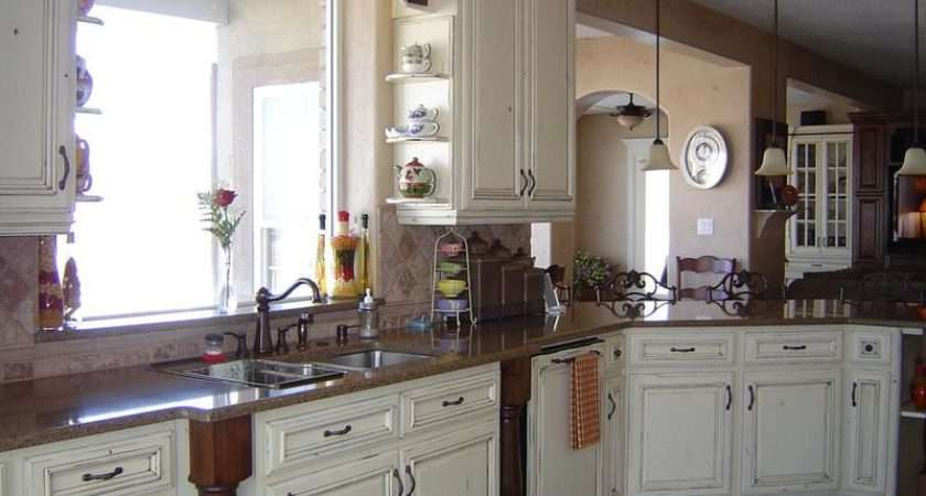 Small French Country Style Kitchen Ideas