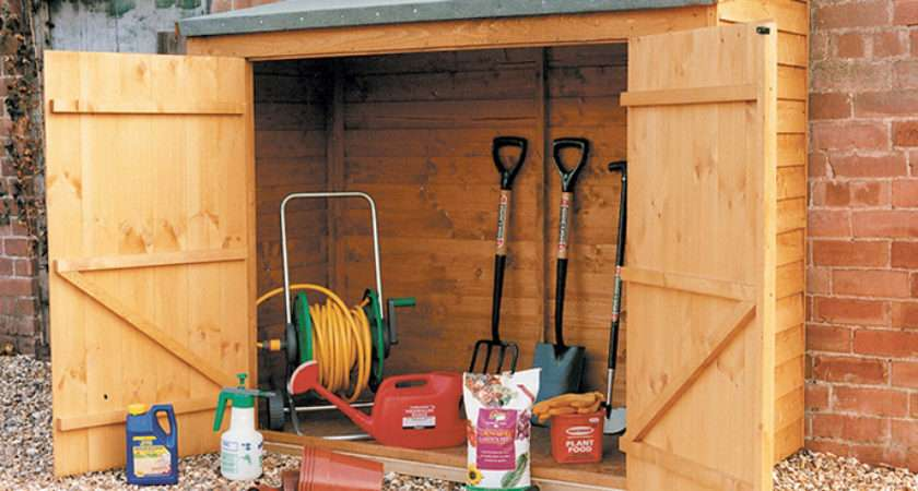Small Garden Storage Ideas Sheds