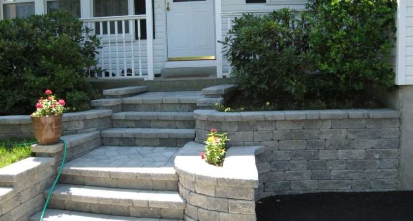 Small Home Exterior Design Front Entrance Stair