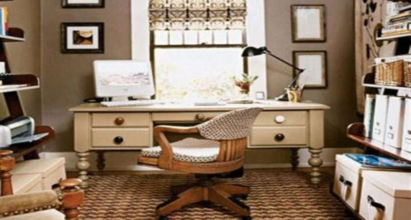 Small Home Office Furniture Decorating