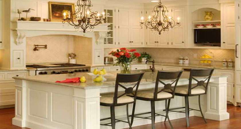 Small Kitchen Design Breakfast Bar Island