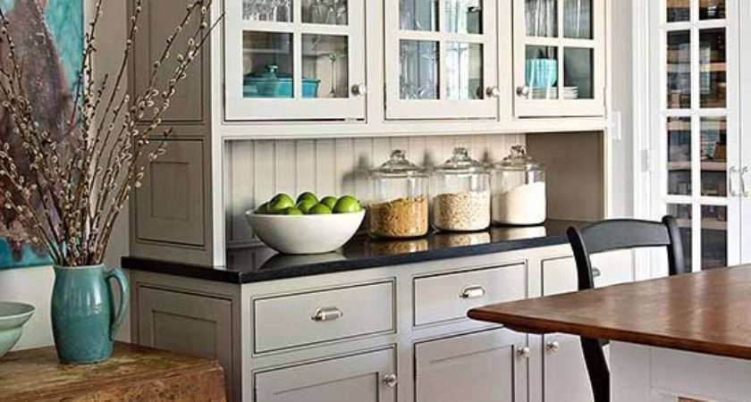 Small Kitchen Ideas Traditional Designs Buffet Cabinet